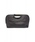 PELLICO(ペリーコ)の古着「カラー切替ハンドバッグ」|ブラック×ピンク