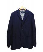 COMME des GARCONS HOMME(コムデギャルソンオム)の古着「3Bジャケット」|ネイビー