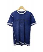 ()の古着「ロゴプリントTシャツ」|ネイビー