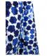 中古・古着 45R (フォーティファイブアール) ツヤサテン染付ノースリーブブラウス ホワイト×ブルー サイズ:2 RN-100802:5800円