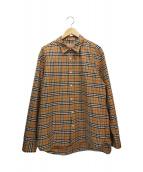 BURBERRY(バーバリー)の古着「ニュークラシックチェックシャツ/ノヴァチェックシャツ」|ベージュ