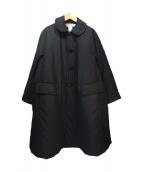 COMME des GARCONS COMME des GA(コムデギャルソン)の古着「Aラインナイロンコート」|ブラック