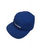 Supreme(シュプリーム)の古着「Tonal Seersucker Camp Cap」|ブルー