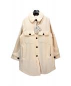 WOOLRICH(ウールリッチ)の古着「CHAMOIS COAT」|アイボリー