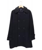 tricot COMME des GARCONS(トリコ コムデギャルソン)の古着「ウールダブルコート」|ブラック