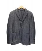 LUBIAM(ルビアム)の古着「3Bジャケット」|ネイビー