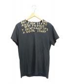 Martin Margiela(マルタンマルジェラ)の古着「エイズチャリティーTシャツ」|グレー