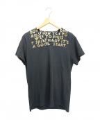 MARTIN MARGIELA(マルタン・マルジェラ)の古着「エイズチャリティーTシャツ」|グレー