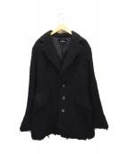 tricot COMME des GARCONS(トリコ コムデギャルソン)の古着「ウールコート」|ブラック