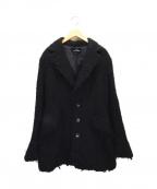 tricot COMME des GARCONS()の古着「ウールコート」 ブラック