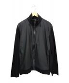 JIL SANDER(ジルサンダー)の古着「切替ブルゾン」|ブラック