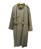 Burberrys(バーバリーズ)の古着「襟コーデュロイライナー付コート」|オリーブ