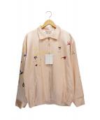 FLAGSTUFF(フラグスタッフ/フラッグスタッフ)の古着「VIETNAM JKT」|ピンク