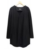 THE RERACS(ザリラクス)の古着「Vカラーウールコート」|ブラック