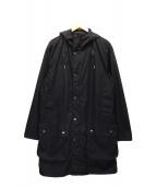 Barbour(バーブァー)の古着「ビデイルロングコート」|ブラック
