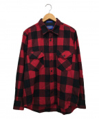 PENDLETON(ペンドルトン)の古着「ガイドチェックシャツ」|ブラック×レッド