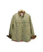 HOLLYWOOD RANCH MARKET(ハリウッドランチマーケッド)の古着「ハンティングジャケット」|グリーン