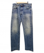 LEVIS VINTAGE CLOTHING(リーバイスヴィンテージクロージング)の古着「セルビッチコーンデニム」|インディゴ