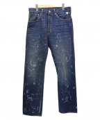 LEVIS VINTAGE CLOTHING(リーバイスヴィンテージクロージング)の古着「デニムパンツ」|インディゴ