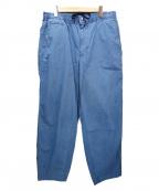 THE NORTHFACE PURPLELABEL(ザノースフェイス パープルレーベル)の古着「Indigo Mountain Shirred Waist」|ブルー