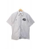 ()の古着「ワークシャツ」|グレー