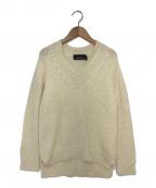 tricot COMME des GARCONS(トリココムデギャルソン)の古着「アルパカ混ニット」 ホワイト