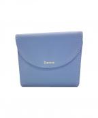 repetto(レペット)の古着「2つ折り財布」 ブルー
