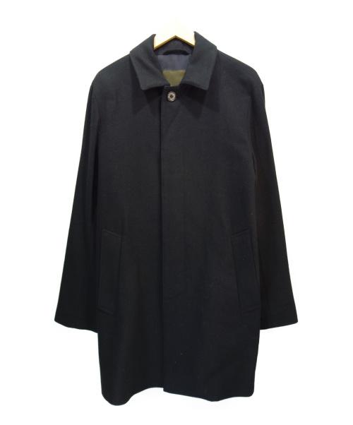 MACKINTOSH(マッキントッシュ)MACKINTOSH (マッキントッシュ) ウールステンカラーコート ブラック サイズ:40の古着・服飾アイテム