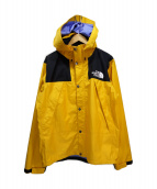 THE NORTH FACE(ザノースフェイス)の古着「Mountain Raintex Jacket」|イエロー
