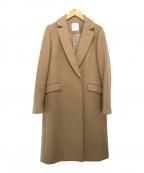 UNITED TOKYO(ユナイテッドトウキョウ)の古着「カシミヤウールチェスターコート」|ベージュ