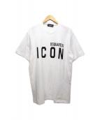 DSQUARED2(ディースクエアード)の古着「ICON TEE」 ホワイト