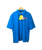 WILLY CHAVARRIA(ウィリーチャバリア)の古着「Hummel Willy Home Boy Shirt」 ブルー