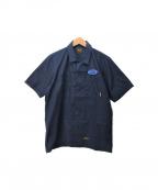 NEIGHBORHOOD()の古着「半袖シャツ」|ネイビー
