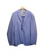 CORNELIANI(コルネリアーニ)の古着「シルク混ジャケット」|ブルー