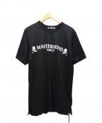 Mastermind JAPAN(マスターマインド ジャパン)の古着「WORLD CIRCLE LOGO TEE」|ブラック
