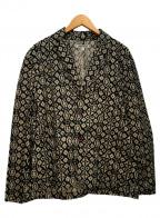 GAIJIN MADE(ガイジンメイド)の古着「総柄ジャケット」|ブラック