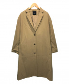 N.O.R.C(ノーク)の古着「ウールギャバチェスターコート」|ベージュ