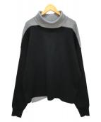 ()の古着「コンビプルオーバー」|ブラック