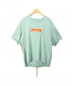 MINDSEEKER(マインドシーカー)の古着「Box Logo Short Sleeve Tee」|グリーン