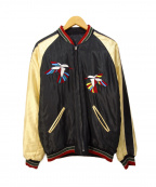 東洋エンタープライズ()の古着「刺繍スカジャン」|ブラック
