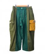 TIGHTBOOTH PRODUCTION(タイトブースプロダクション)の古着「SAMURAI TRACK PANTS」|グリーン