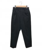 digawel(ディガウェル)の古着「PEDAL PUSHER PANTS」|ブラック