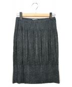 PLEATS PLEASE(プリーツプリーズ)の古着「プリーツスカート」|グレー