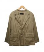 ISSEY MIYAKE MEN(イッセイミヤケメン)の古着「コットンテーラードジャケット」|ベージュ