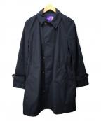 THE NORTHFACE PURPLELABEL(ザノースフェイス パープルレーベル)の古着「65/35クロスステンカラーコート」|ネイビー