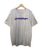 ()の古着「Futura Logo Tee」|グレー