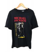 ()の古着「MICHAEL JACKSON TEE」|ブラック