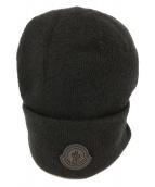 MONCLER(モンクレール)の古着「ニット帽」|ブラック