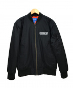 adidas Originals(アディダスオリジナル)の古着「MA-1ジャケット」 ブラック