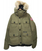 CANADA GOOSE(カナダグース)の古着「RUSSELL PARKA」|MILITARY